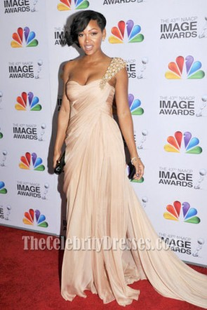 Meagan Good Prom Dress The 43rd Annual NAACP Image Awards Red Carpet