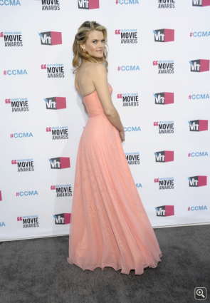 Missi Pyle Pink Abendkleid Critics Choice Awards 2012 Celebrity Kleider