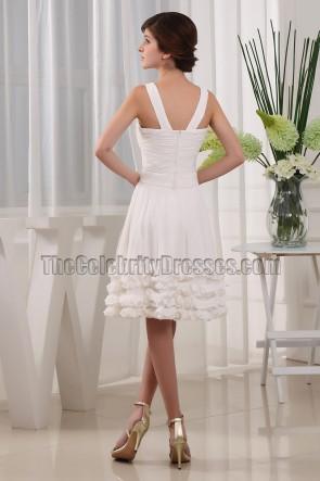 New Style Elfenbein Heimkehrkleid Cocktailkleid Brautjungfernkleid