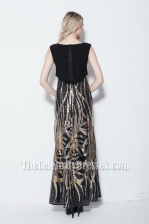 New Style Long Gown Sequined Evening Dresses
