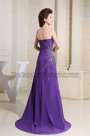 Celebrity Inspired Regency Beaded Prom Formal Evening Dresses