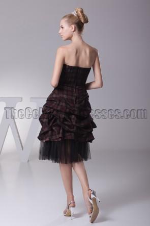 New Style Schatz A-Line schwarz Cocktail Partykleid