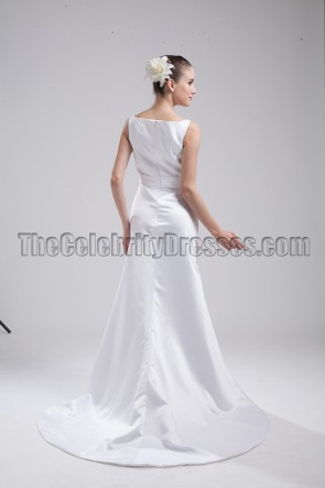 New Style White Long Wedding Dresses