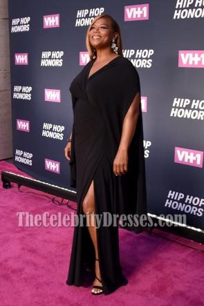 Königin Latifah schwarzes Abend-Abschlussball-Kleid VH1 Hip Hop Ehren alle Hagel die Königinnen