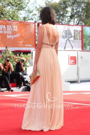 Rebecca Hall Nacktimperium Abendkleid 2017 Venedig Film Festival Premiere von First Reformed