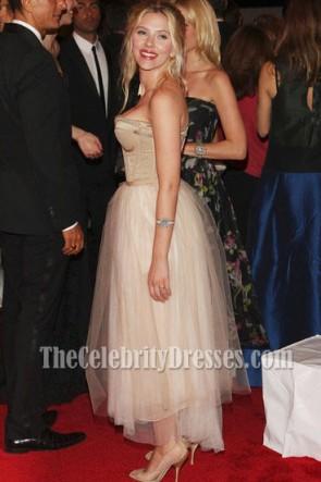 Scarlett Johansson Cocktailkleid Kostüm Institute Gala 2008