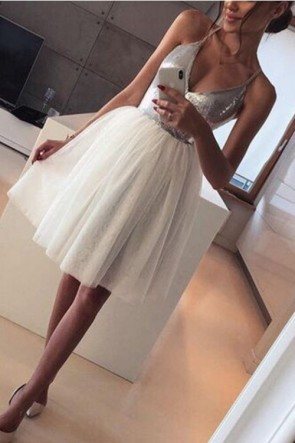 Sequins Patches Sleeveless Dress