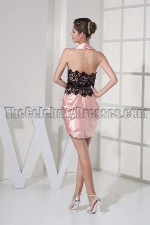 Sexy Mini Short Halter Party Homecoming Dresses