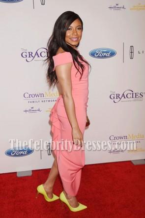 Shalita Grant Off-the-Schulter Partykleid 41. Jährliche Gracie Awards