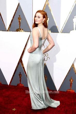 Sophie Turner 88. Oscar-Verleihung Abend-Abendkleid 2016 roten Teppich-Kleid TCD6703