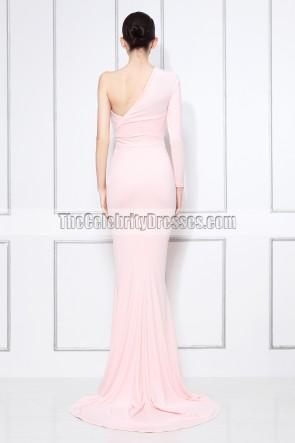 Lola Monroe ein Ärmel Abendkleid 2012 BET Auszeichnungen Roter Teppichkleid