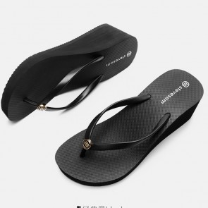 Casual Wedge Platform Flip Flops