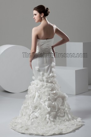 Trumpet/Mermaid Strapless Sweetheart Bridal Gown Wedding Dress