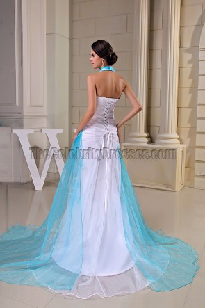 Discount Sequined Halter Formal Dress Prom Evening Gown