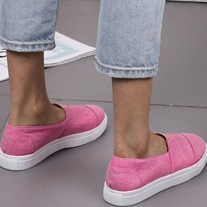 Women's Canvas Flat Sneakers