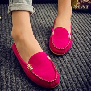 Women's Casual Closed-toe Flat Heel Shoes