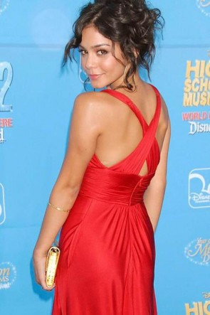 Vanessa Hudgens Rote Prom Abendkleid High School Musical 2 Premiere