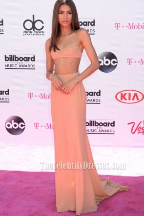 Zendaya 2016 Billboard Music Awards Two-pieces Evening Dress Red Carpet Prom Gown