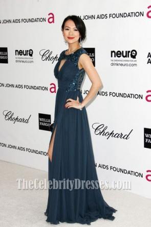 Zhang Ziyi Abend Abendkleid Oscars 2012 Anzeigen Party