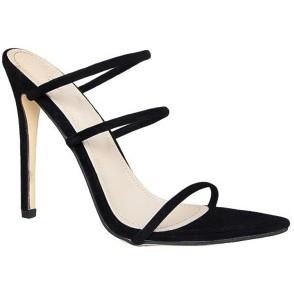 Kim Kardashian's Pointed Open-toe Sandals