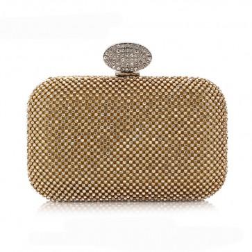 Women's Mini Fashion Evening Bag Party Diamond Clutch Purse 2