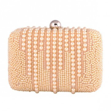 New Arrival Evening Bag Handmade Pearl Bag Party Clutch Bags 1