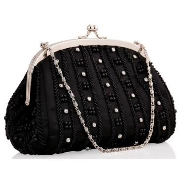 New Women Beaded Handbag Classic Evening Clutch Bags 6