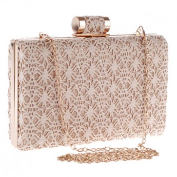 New Fashion Ladies Cut Out Lace Evening Bag Party Clutch Bags 5