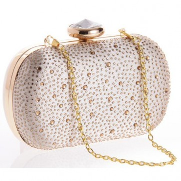 New Diamond Studded Mini Handbag Ladies Casual Evening Handmade Bags 5