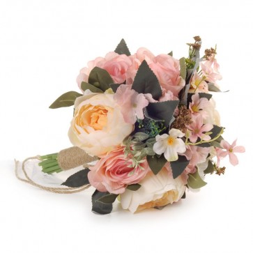 Multi-Colored Hand-tied Bridal Bouquets
