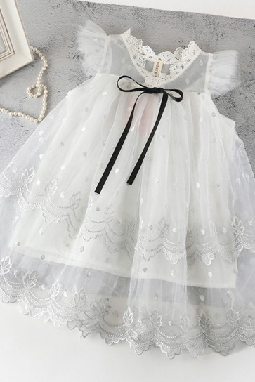 A-line Tulle Flower Girl Dress