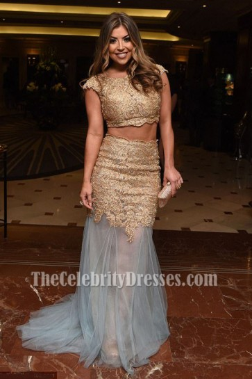 Abigail Clarke robe de soirée deux pièces prix asiatiques 2017 robe