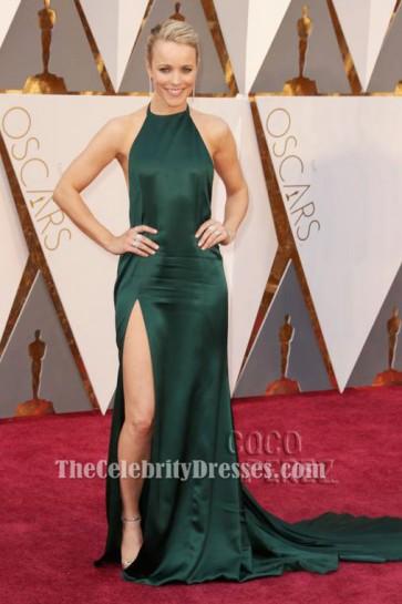 Rachel McAdams Sexy Halter Backless robe de soirée 88e Oscars tapis rouge