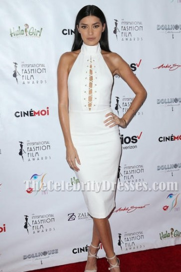 Sexy White Sleeveless Party Cocktail Bandage Dresses TCDTB6250