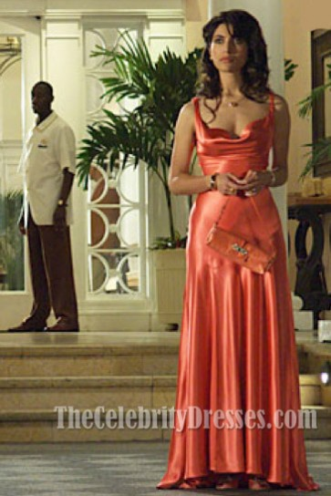 Caterina Murino Sexy Evening Dress In Movie Casino Royale 007