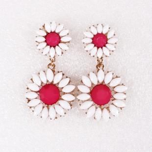 Sweet  Daisy Drop Earrings for Girls TCDE0062