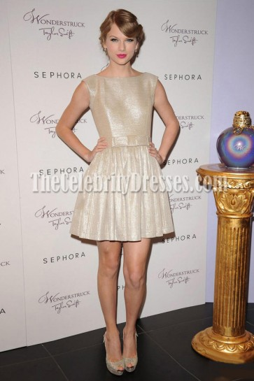 Taylor Swift Cute A-line Mini Cocktail Dress Party Homecoming Dresses