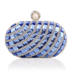New Luxury Diamond Studded Evening Bag Ladies Party Formal Handbag TCDBG0113