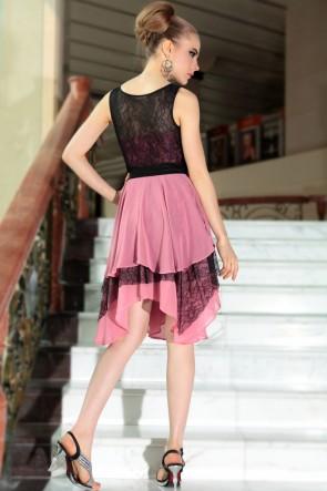 Chic A-Line Knee Length Cocktail Graduation Party Dresses