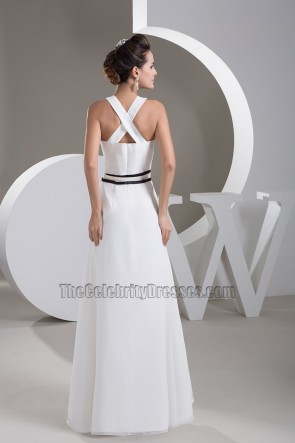 Long White Formal Dress Prom Evening Gown