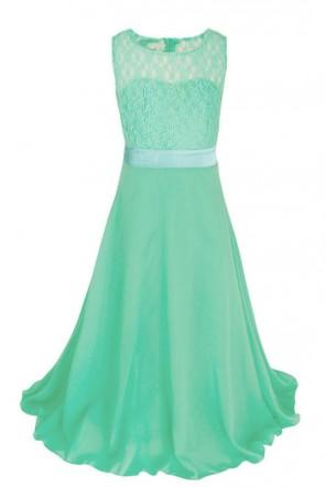 A-line Chiffon Junior Bridesmaid Dress