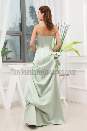 Elegant Spaghetti Straps Floor Length Formal Dress Prom Gown