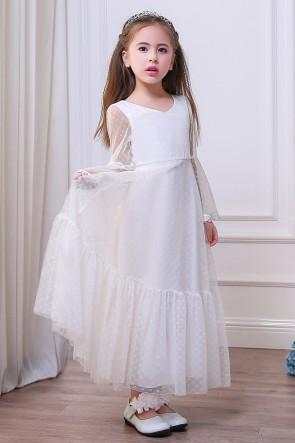 A-line Junior Bridesmaid Dress
