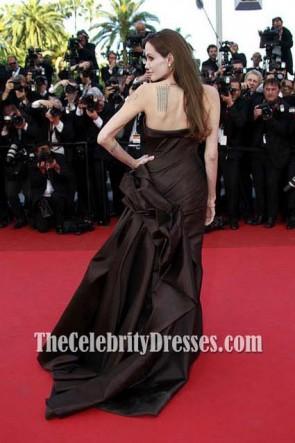 Angelina Jolie robe de soirée rouge robe de soirée Festival de Cannes 2011