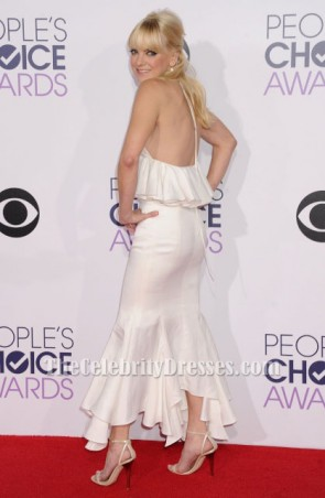 Anna Faris ivoire deux pièces formelle robe People's Choice Awards 2015