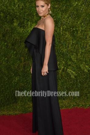 Ashley Tisdale costume noir deux pièces tenue Tony Awards