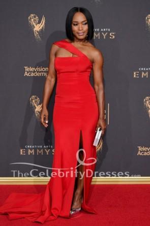 Angela Bassett 2017 Creative Arts Emmy Awards Robe de soirée rouge