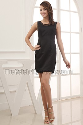 Discount Sleeveless Little Black Party Homecoming Dresses