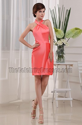 Gorgeous Halter Party Dress Cocktail Homecoming Dresses