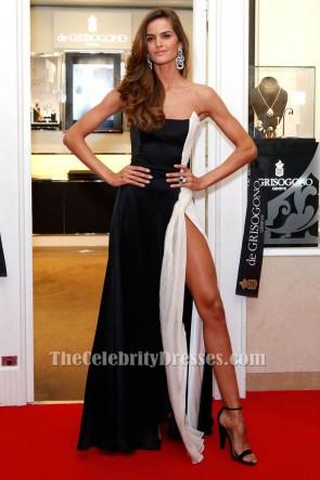 Iza Goulart Robe formelle sans bretelles 68e Festival international du film de Cannes